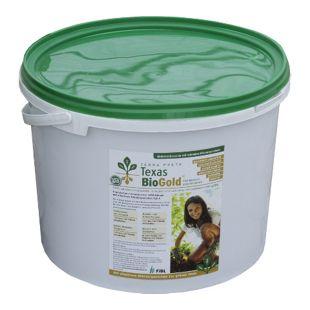 Dominik Gartenparadies Texas Bio-Gold, Bodenverbesserer, 10 Liter