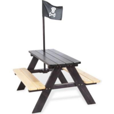 Pinolino Kindersitzgarnitur Nicki für 4 Kinder, Pirat