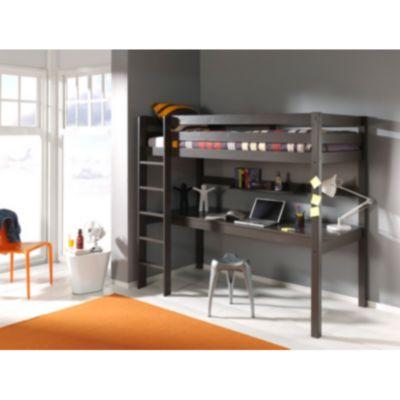 Vipack Furniture Hochbett Pino, taupe