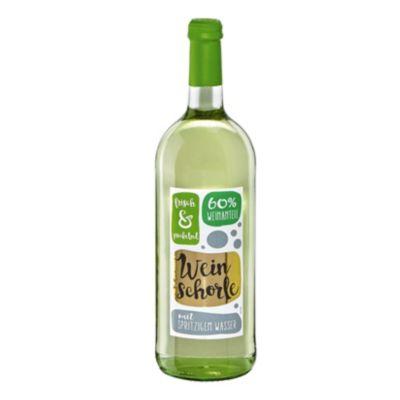 Weinschorle weiß 1,0 l