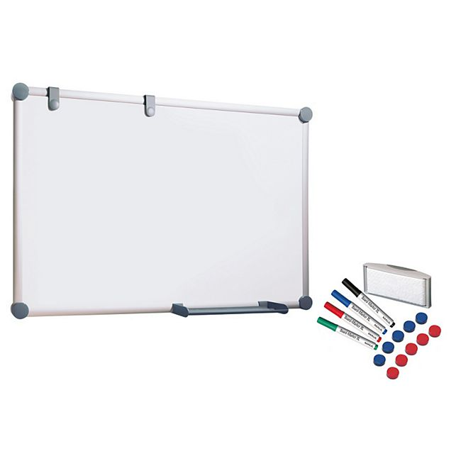 MAUL Whiteboard 2000 MAULpro, Komplett-Set - 90 x 120 cm - Bild 1