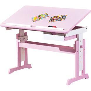 Inter Link Schreibtisch Cecilia weiss/pink - Bild 1