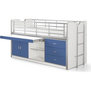 Vipack Hochbett Bonny BONHS95, blau - Bild 1