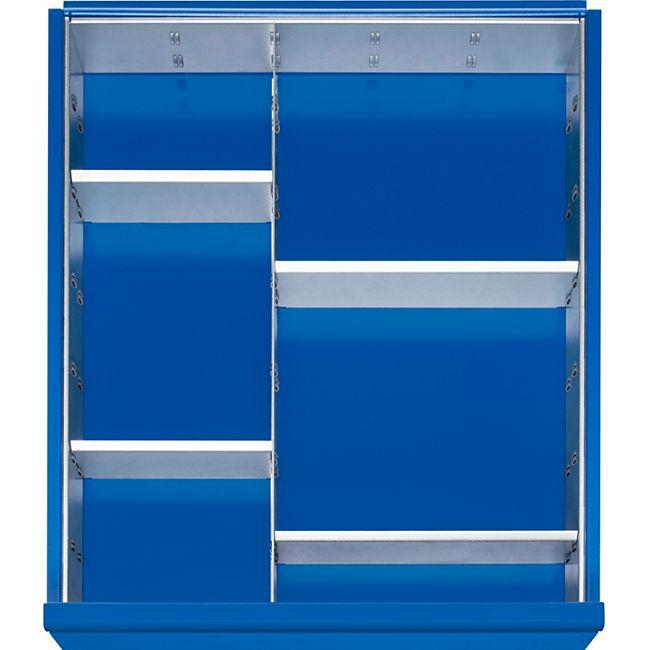 Einteilungs-Set für alle Rau Werkbank-Schubladen  - für Schubladenhöhe 120 mm und 150 mm - Bild 1