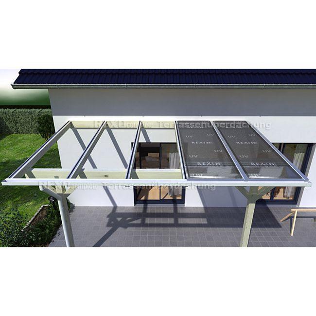 REXOtop 406 x 350 cm Terrassendachbausatz - Bild 1