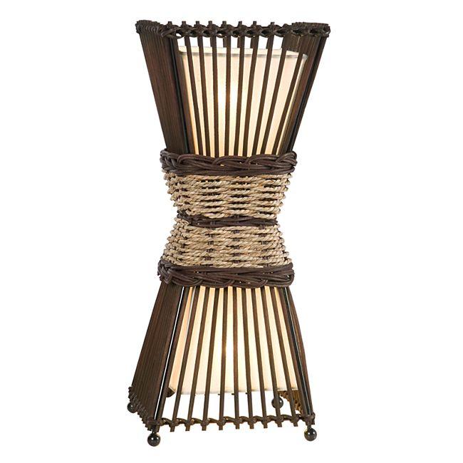 Nino Leuchten Tischleuchte Bamboo - Bild 1