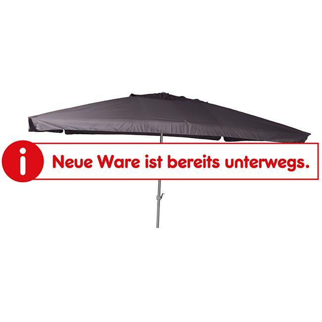 Merxx Marktschirm Alu 120 x 190 cm, grau - Bild 1