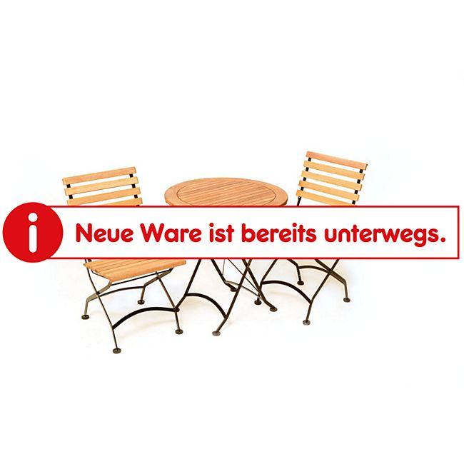Merxx Balkonset Schlossgarten 3tlg. (Klappstühle ohne Armlehnen) - Bild 1