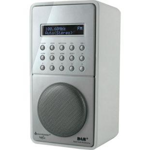 Soundmaster DAB100WS weißes DAB+ / UKW-PLL Radio mit Festsenderspeicher und Akku - Bild 1