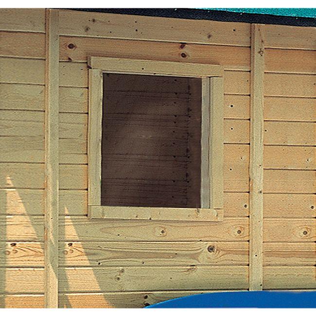Karibu Fenster feststehend für 14 mm Garten- und Gerätehäuser - Bild 1