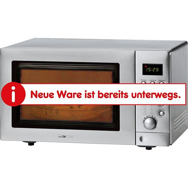 Clatronic MWG 779 H Mikrowelle mit Doppelgrill und Heißluft, inkl. Pizzastein - Bild 1