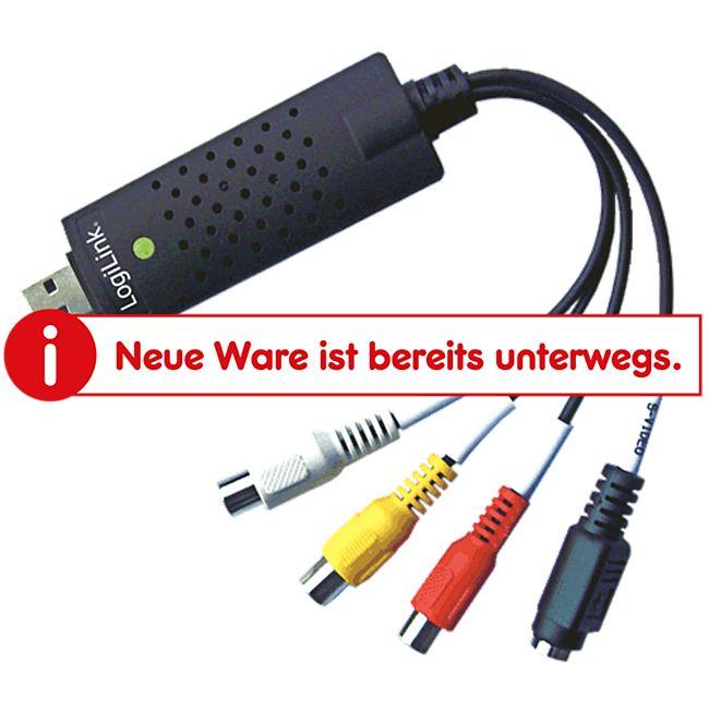 Logilink VG0001A Audio und Video Grabber USB 2.0 - Bild 1