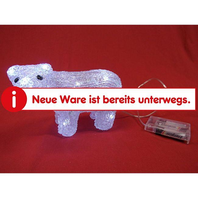 Leuchtender Acryl Bär mit 30 LEDs  für Innen - Bild 1