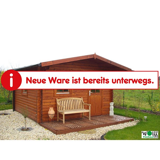 Wolff Finnhaus Saunahaus Ella 70 - Bild 1