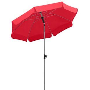 Schneider Sonnenschirm Locarno rot, Ø 150 cm - Bild 1