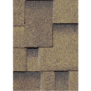 Karibu Dachschindeln Asymmetrisch 3 m², Farbe zedernholz - Bild 1