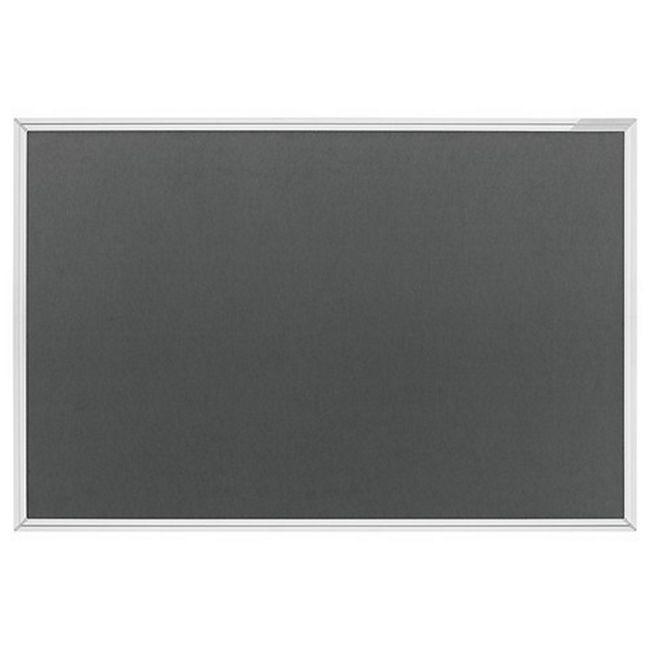 magnetoplan Textilboards Typ SP 600 x 450 mm - grau - Bild 1