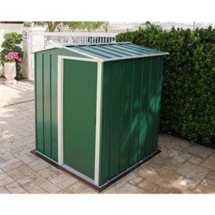 Tepro Metallgerätehaus Eco 5x4 grün - Bild 1