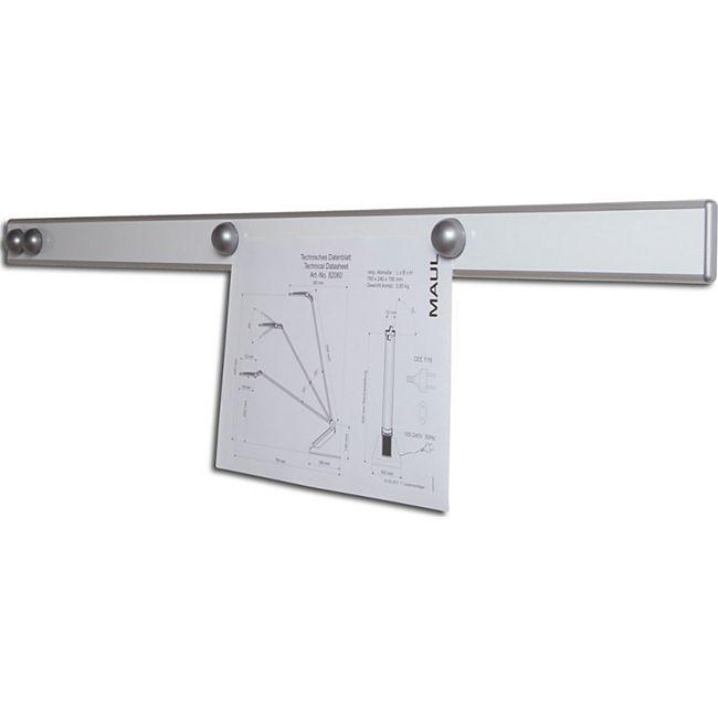 "MAUL Magnet-Wandschiene ""design"" - silber - Bild 1"