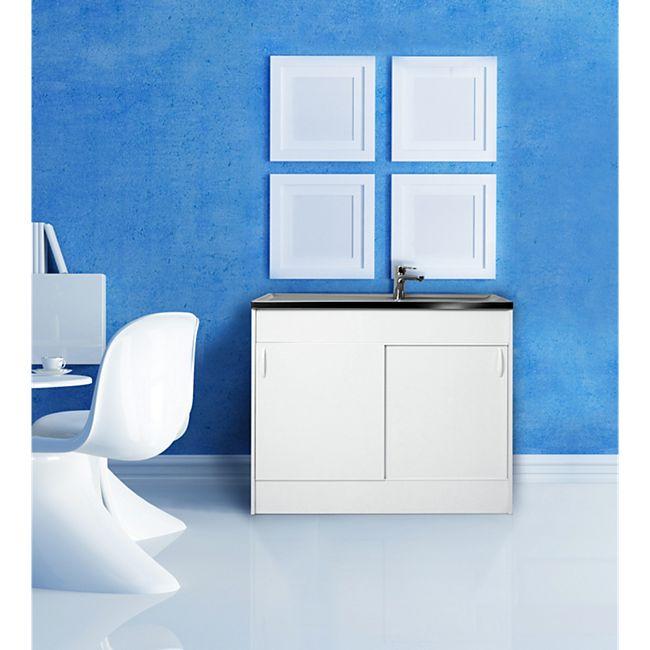 respekta sp lenschrank sp lschrank komplettsp le sp le edelstahl 100 x 60 cm online kaufen netto. Black Bedroom Furniture Sets. Home Design Ideas