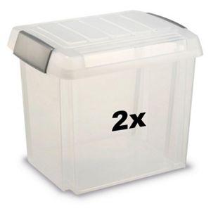 BRB Ordnerboxen 50 liter 2 Stück - Bild 1