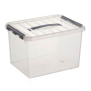 BRB Stapelbehälter 25 liter, 2 Stück - Bild 1