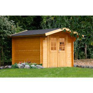 Wolff Finnhaus Gartenhaus Britta 34-A - Bild 1