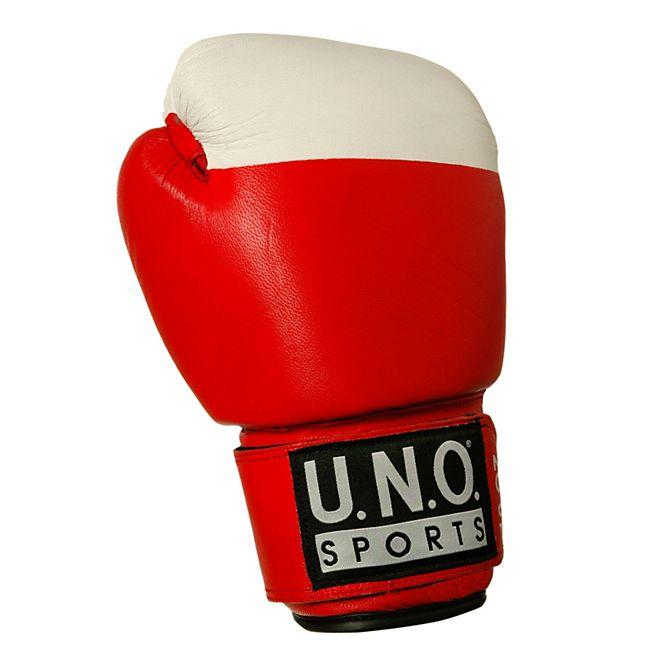 U.N.O. Boxhandschuh Competition 10 Unzen rot - Bild 1