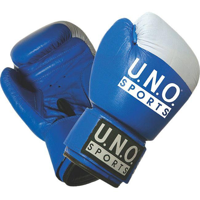 U.N.O. Boxhandschuh Competition 10 Unzen blau - Bild 1