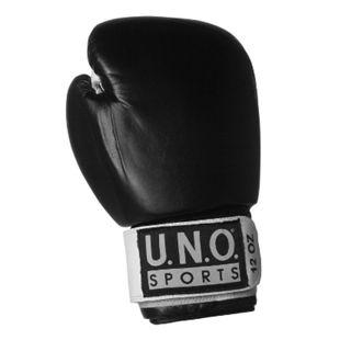 U.N.O. Boxhandschuh Black Pro 10 Unzen - Bild 1