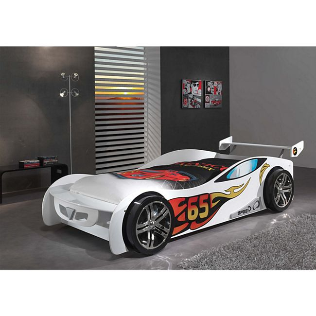 Vipack Autobett Le Mans, weiß - Bild 1