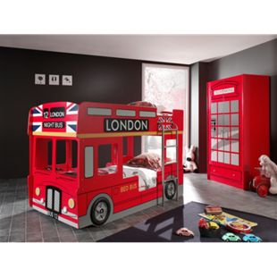 Vipack Etagenbett London Bus - Bild 1