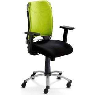 MAYER SITZMÖBEL Bürostuhl Spirit 2275 mit verstellbaren Armlehnen, Grün - Bild 1
