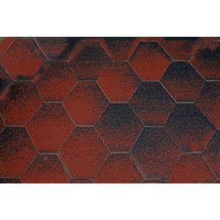 Wolff Finnhaus Gartenhaus Milano 3.0 rot-schwarz - Bild 1