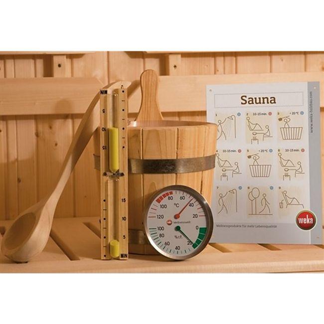 Weka Premium Sauna-Zubehör-Set 5-teilig - Bild 1