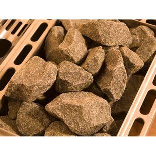 Weka Diabas-Saunasteine, ca. 12 kg - Bild 1