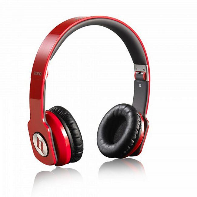 Noontec Zoro Professional On-Ear Kopfhörer - rot - Bild 1