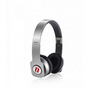 Noontec Zoro Professional On-Ear Kopfhörer - silber - Bild 1