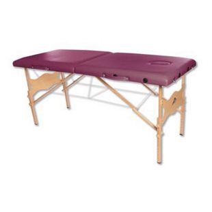 3B Scientific Tragbare Massageliege Basic, bordeaux - Bild 1