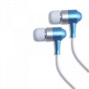 @tec InEar Stereo Kopfhörer - blau - Bild 1