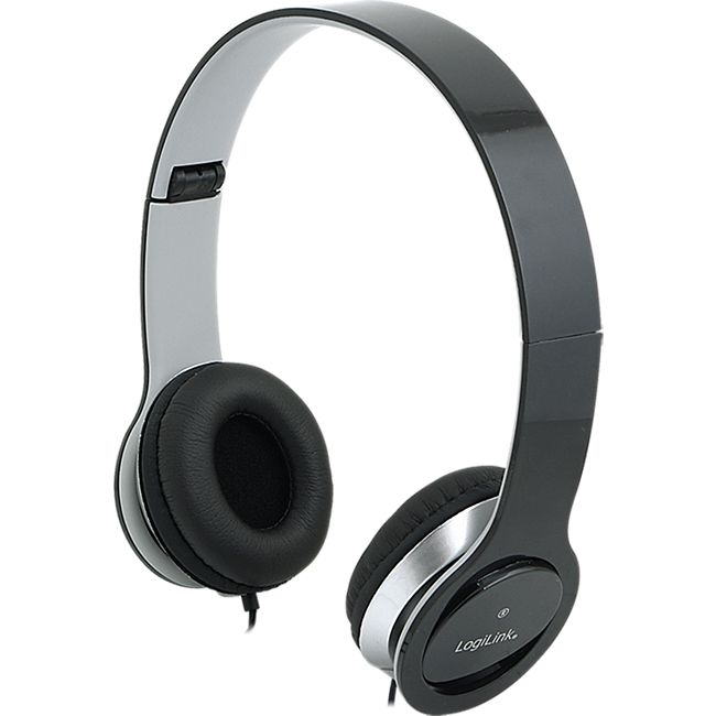 LogiLink HS0028 Stereo High Quality Headset  - schwarz - Bild 1