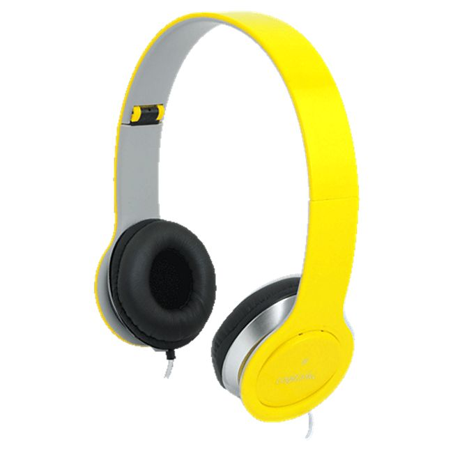 LogiLink HS0030 Stereo High Quality Headset - gelb - Bild 1