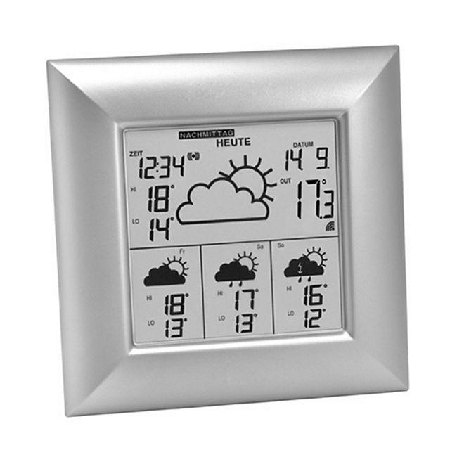 TechnoLine WD 4000 - WetterDirekt Station - silber - Bild 1