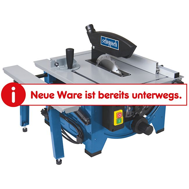 Scheppach HS80 Tischkreissäge - Bild 1
