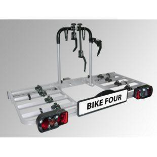 Eufab BIKE FOUR Fahrradheckträger für Anhängekupplung - Bild 1