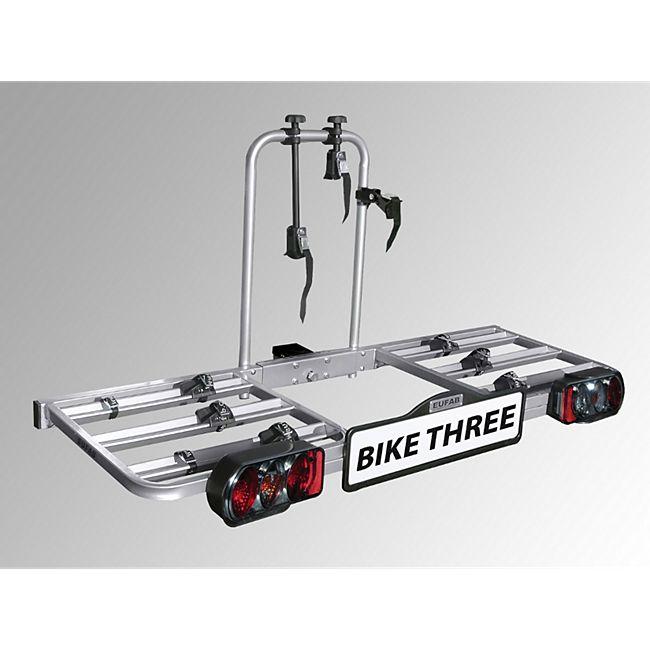 Eufab BIKE THREE Fahrradheckträger für Anhängerkupplung - Bild 1