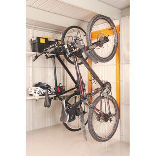Wolff COMFORT LINE Fahrradhalter klein für Gerätehaus Sapporo - Bild 1