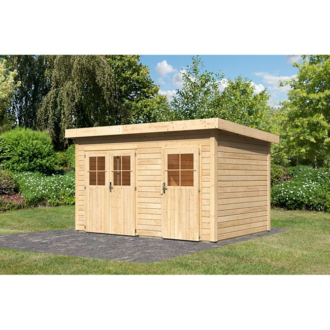 Woodfeeling Tintrup Gartenhaus, naturbelassen - Bild 1
