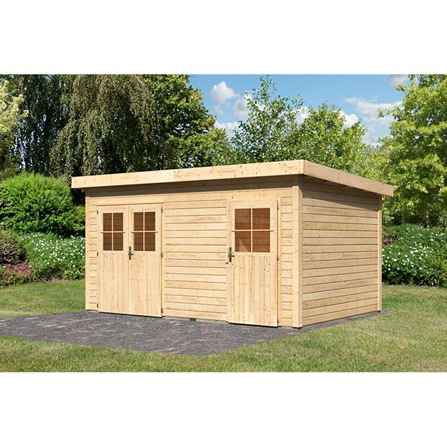 Woodfeeling Mattrup Gartenhaus, naturbelassen - Bild 1