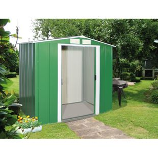 Tepro Metallgerätehaus Eco 6x4 grün - Bild 1